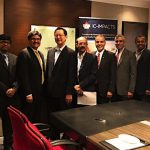 Signing ceremony in Mumbai