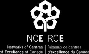 Logo of Networks of Centres of Excellence - Réseaux de centres d'excellence - On Transparent Background