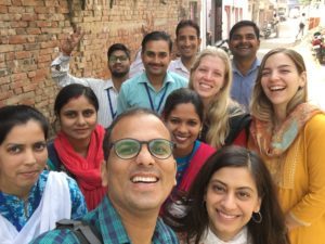 Photo of Tika Vaani Team in India